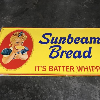 Sunbeam bread sign 4'x 5' - Signs