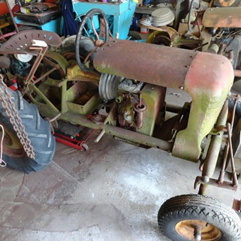3 Copar Panzer Tractors two. 3 Wheeled & a 4 Wheeled one. & 1 Being restored