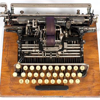 Munson typewriter - 1890 - Office