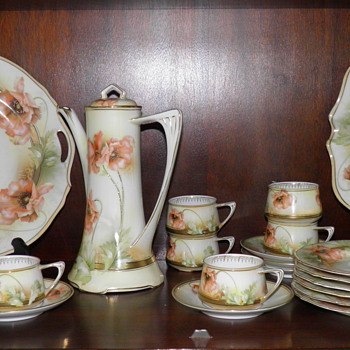 R S Germany Chocolate Set - China and Dinnerware