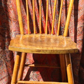 maple chair