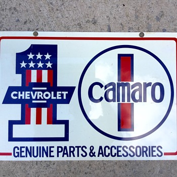 Chevrolet Camaro Sign - Signs