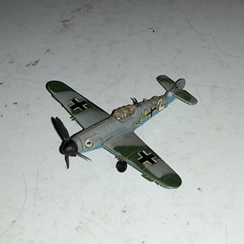 Bachmann Mini-Plane Messerschmitt ME 109 140th Scale 1970s - Toys