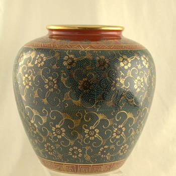 My beautiful Kutani vase - Asian