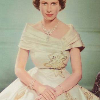 1951 Yousuf Karsh Prints Queen Elizabeth and Prince Philip  - Photographs