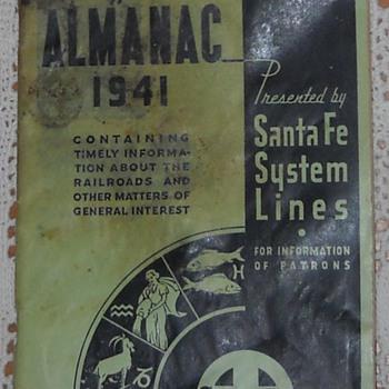 Everyman's Almanac - 1941 - Railroadiana