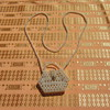 Cultured pearl coin purse
