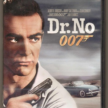 """Dr. No"" DVD - James Bond - Movies"