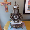 heavy weight cherub clock