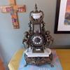 heavy weight cherub clock