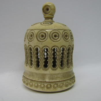 Oriental antique Bird Cage Rattle ?, Bone or ivory ? - Asian