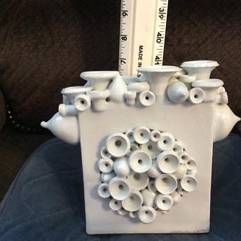 Unique sculptural vase - Pottery