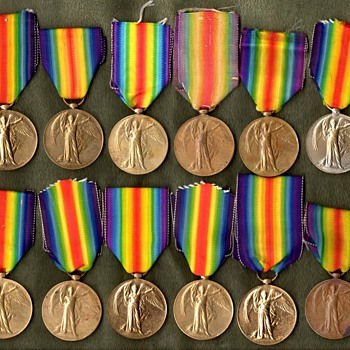 The WWI Victory Medal Series – British Empire - Military and Wartime