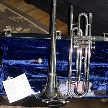 Vintage Ambassador Kraslice Valve Trombone - Musical Instruments