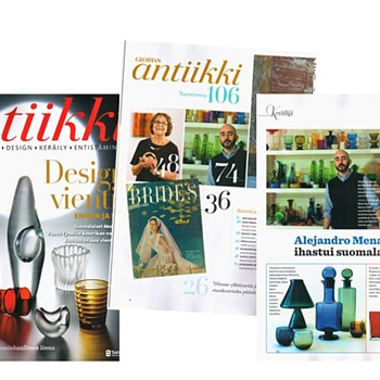 I'm on the magazines!!! - Art Glass