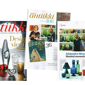 I'm on the magazines!!! - Art Glass