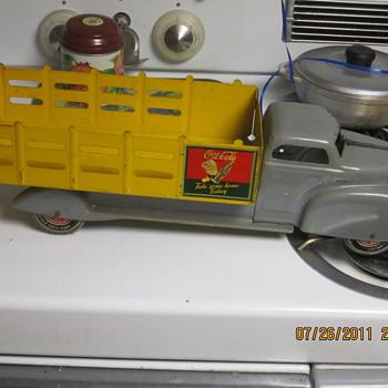 Marx toy coca-cola truck - Coca-Cola