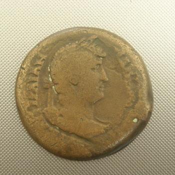 Rare Roman Coin  _ Hadrian _ ISIS Pharia _Lighthouse at Alexandria