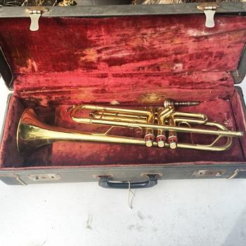 Vintage Palatino Trumpet w/ Original Case  - Musical Instruments