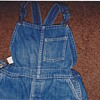 Bib overalls found in underground dirt home 35 years ago