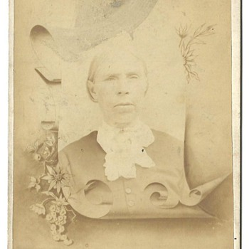 Cabinet Card of Mary (Sweeney) Call - Photographs
