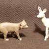 More Marx North American Mammals From Playsets 1950s