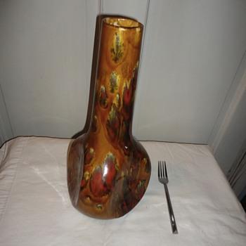 MidCentury Drip Glaze Pottery - Pottery