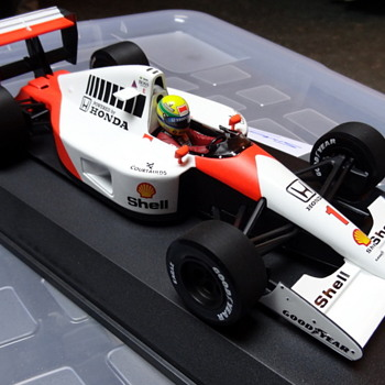 Ayrton Senna Minichamps McLaren MP4/6 - Model Cars