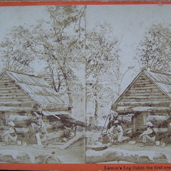Lamons Log Cabin - Photographs