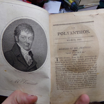 The Polyanthos Magazine, 1807 (Taken from a volume.)