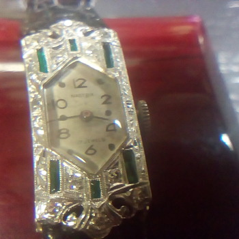 Ladies Vintage Nastrix Wrist Watch - Wristwatches
