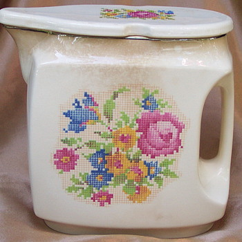 Cross Stitch Pattern by Harker-Unknown use - China and Dinnerware