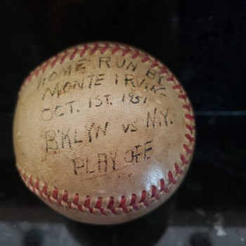 Monte Irvin Home Run - Baseball