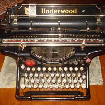 1922 Underwood nr.3 Desktop typewriter