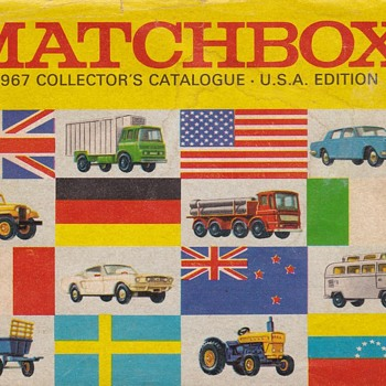 Many More Matchbox Monday 1967 Collector's Catalog USA Edition - Advertising