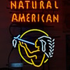 Natural American neon sign