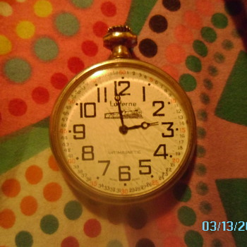 an old pocket watch its a lucerne and i would love to know more about it! - Pocket Watches