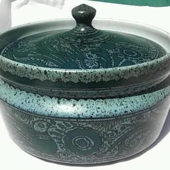 Felix Tissot- ceramic dish - Pottery