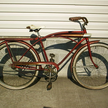 Old Sears tank style bicycle. - Sporting Goods