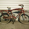 Old Sears tank style bicycle.