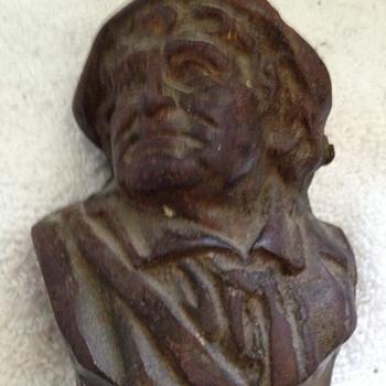 Rip Van Winkle Small Bronze -Jefferson Island Louisiana - Figurines