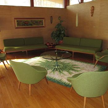 Vintage Teak Living Room time capsule
