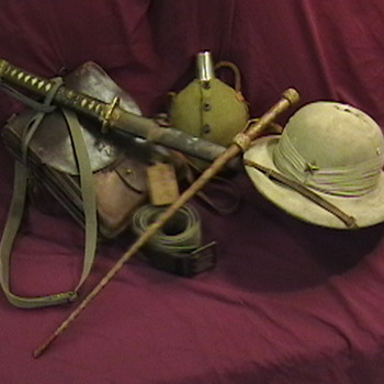 WW II Japanese Officer's Grouping - Military and Wartime