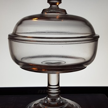Glass Compote  - Glassware