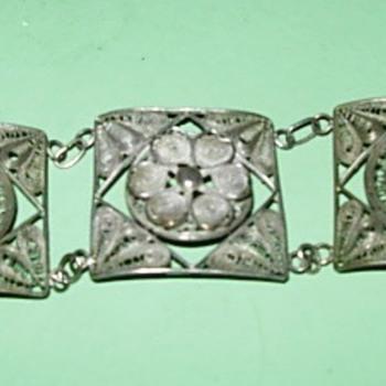 Abuela Leo's filigree bracelet