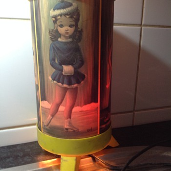 Old childhood lamp - Lamps