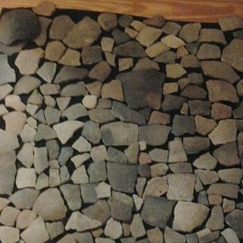 Native american pottery shards collection from bethania NC artifacts  - Native American