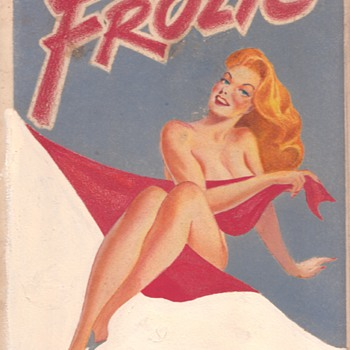 Warren King Original Pin up Art for Frolic Digest 1945 - Posters and Prints