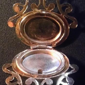Vintage scent locket? - Costume Jewelry