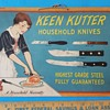Beautiful Keen Kutter Knife Sign Circa 1930s